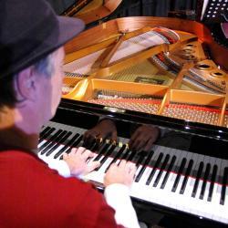 Check sound au festival Jazz à l'Ouest